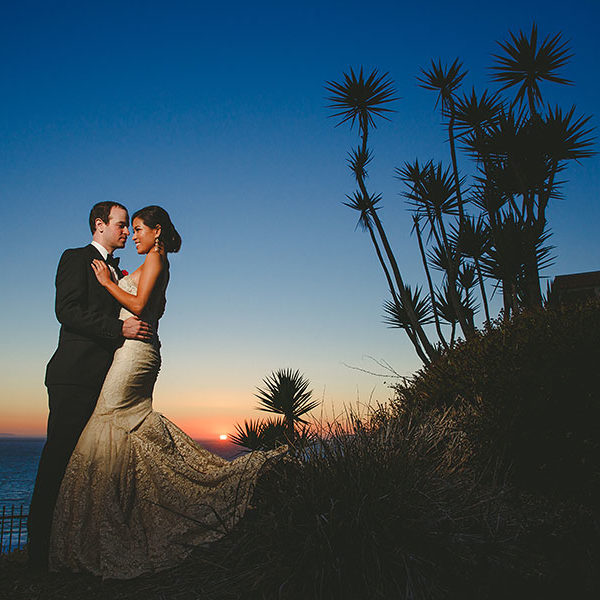 Elizabeth + Ron // Casa Romantica Cultural Center and Gardens //  San Clemente Wedding