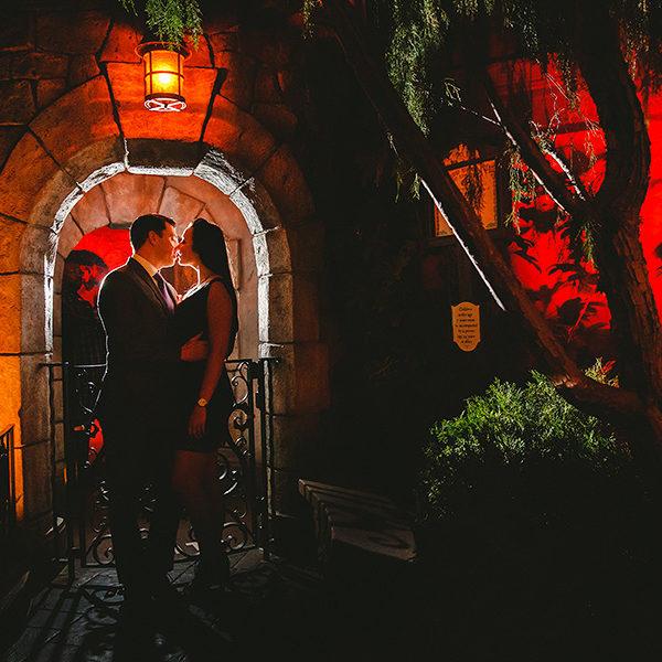 Taylor + Terrance // Disneyland Park Engagement