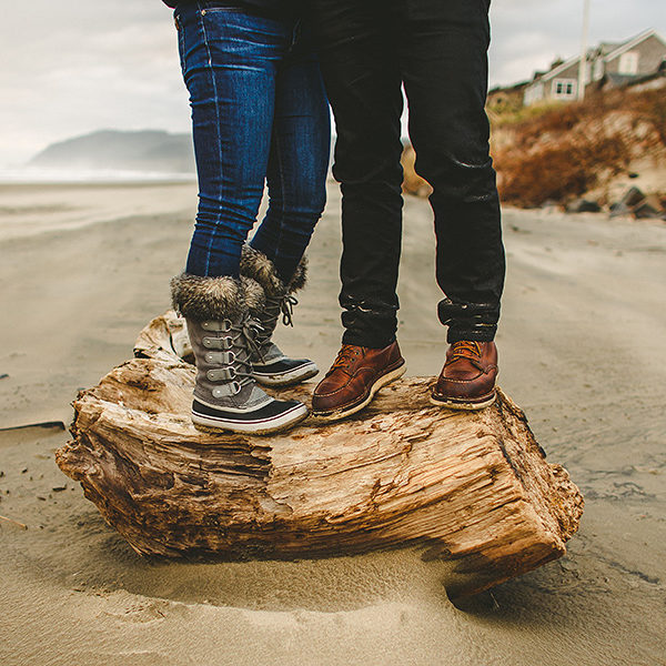 Momo + Ray :: Sunrise Session :: Cannon Beach, Oregon